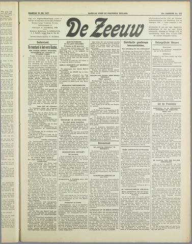 De Zeeuw. Christelijk-historisch nieuwsblad voor Zeeland 1937-07-19