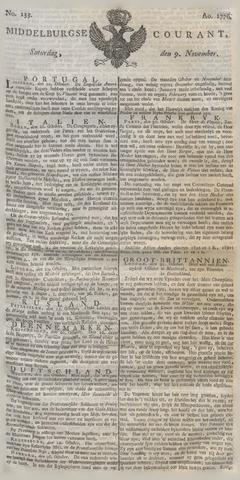 Middelburgsche Courant 1776-11-09