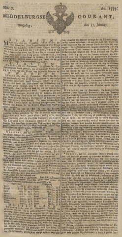 Middelburgsche Courant 1775-01-17