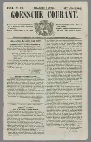 Goessche Courant 1864-06-06