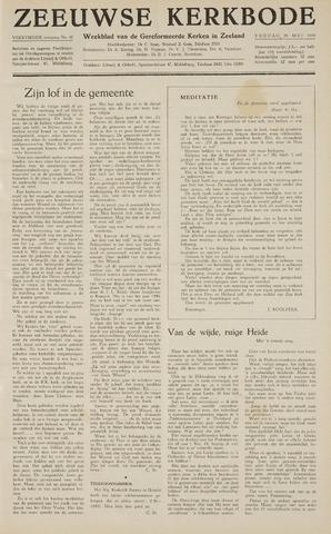 Zeeuwsche kerkbode, weekblad gewijd aan de belangen der gereformeerde kerken/ Zeeuwsch kerkblad 1959-05-29