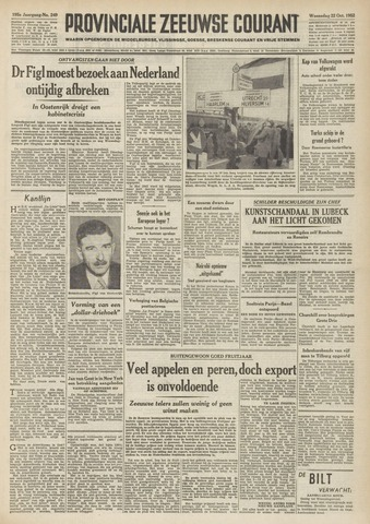 Provinciale Zeeuwse Courant 1952-10-22