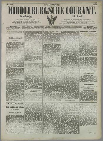 Middelburgsche Courant 1891-04-23