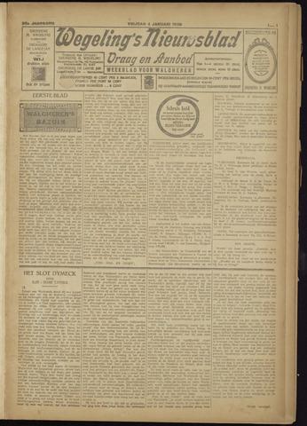 Zeeuwsch Nieuwsblad/Wegeling's Nieuwsblad 1929