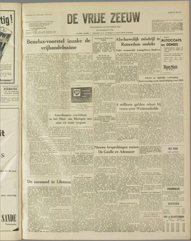 de Vrije Zeeuw 1958-11-20
