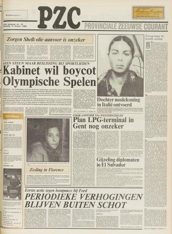 Provinciale Zeeuwse Courant 1980-01-12