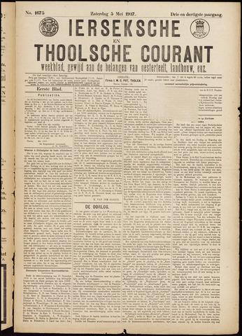 Ierseksche en Thoolsche Courant 1917-05-05