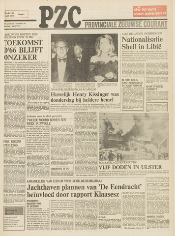 Provinciale Zeeuwse Courant 1974-04-01
