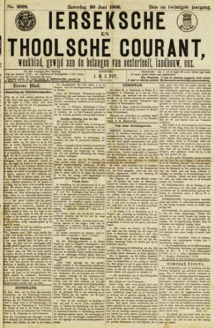 Ierseksche en Thoolsche Courant 1906-06-30