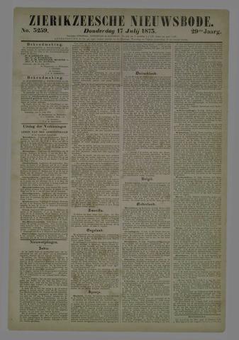 Zierikzeesche Nieuwsbode 1873-07-17