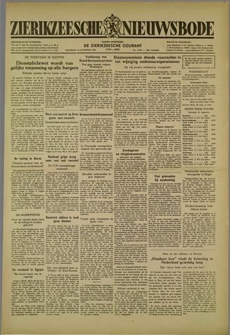 Zierikzeesche Nieuwsbode 1952-08-18