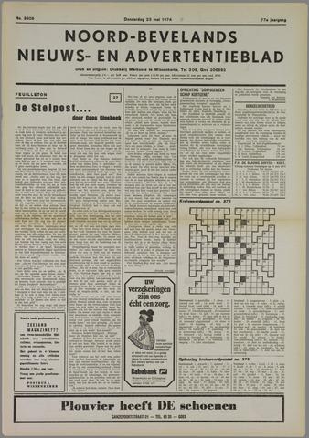 Noord-Bevelands Nieuws- en advertentieblad 1974-05-23