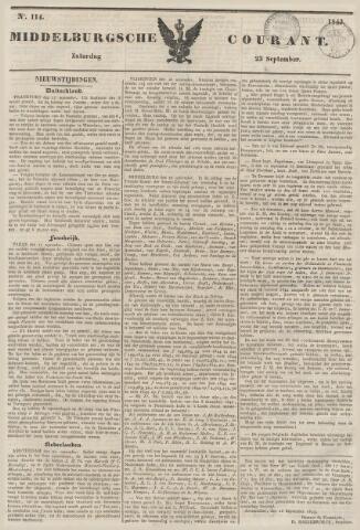 Middelburgsche Courant 1843-09-23