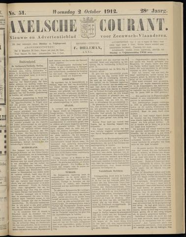 Axelsche Courant 1912-10-02