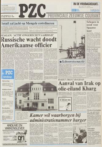 Provinciale Zeeuwse Courant 1985-03-26