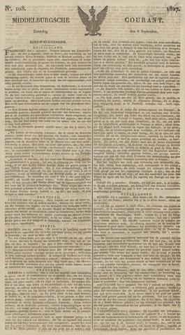 Middelburgsche Courant 1827-09-08