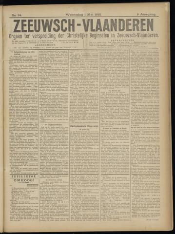 Luctor et Emergo. Antirevolutionair nieuws- en advertentieblad voor Zeeland / Zeeuwsch-Vlaanderen. Orgaan ter verspreiding van de christelijke beginselen in Zeeuwsch-Vlaanderen 1918-05-01