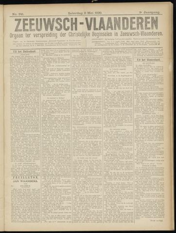 Luctor et Emergo. Antirevolutionair nieuws- en advertentieblad voor Zeeland / Zeeuwsch-Vlaanderen. Orgaan ter verspreiding van de christelijke beginselen in Zeeuwsch-Vlaanderen 1920-05-08