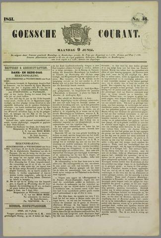 Goessche Courant 1851-06-09