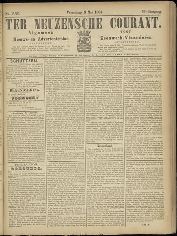 Ter Neuzensche Courant. Algemeen Nieuws- en Advertentieblad voor Zeeuwsch-Vlaanderen / Neuzensche Courant ... (idem) / (Algemeen) nieuws en advertentieblad voor Zeeuwsch-Vlaanderen 1894-05-09