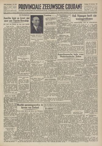 Provinciale Zeeuwse Courant 1946-10-18