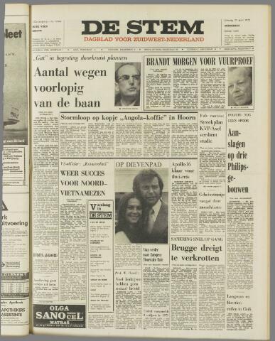 de Stem 1972-04-25