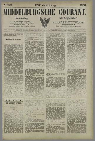 Middelburgsche Courant 1883-09-26