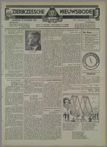 Zierikzeesche Nieuwsbode 1936-10-19