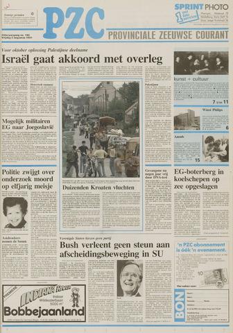 Provinciale Zeeuwse Courant 1991-08-02