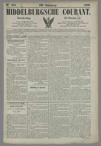 Middelburgsche Courant 1888-12-20