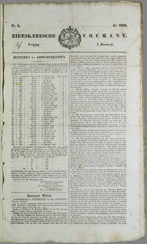Zierikzeesche Courant 1836