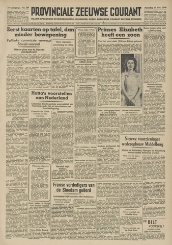 Provinciale Zeeuwse Courant 1948-11-15