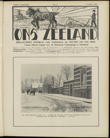 Ons Zeeland / Zeeuwsche editie 1929-03-02