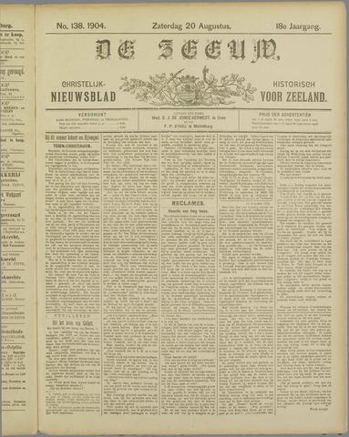 De Zeeuw. Christelijk-historisch nieuwsblad voor Zeeland 1904-08-20
