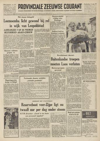 Provinciale Zeeuwse Courant 1960-08-11