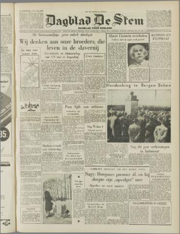 de Stem 1955-04-19