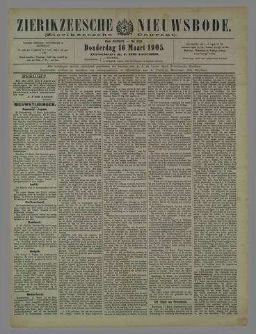 Zierikzeesche Nieuwsbode 1905-03-16