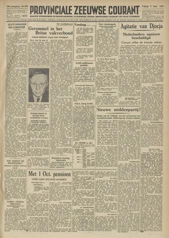 Provinciale Zeeuwse Courant 1947-09-05