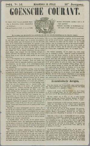 Goessche Courant 1864-07-18