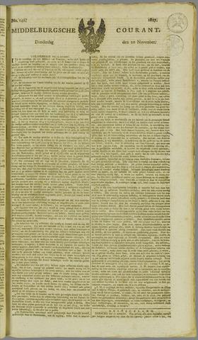 Middelburgsche Courant 1817-11-20
