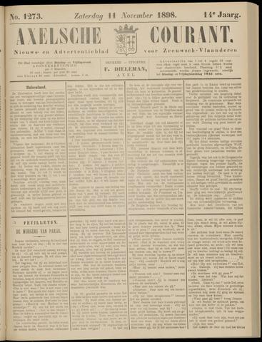 Axelsche Courant 1898-11-12