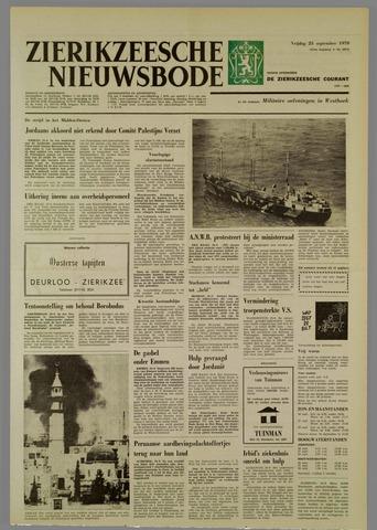 Zierikzeesche Nieuwsbode 1970-09-25