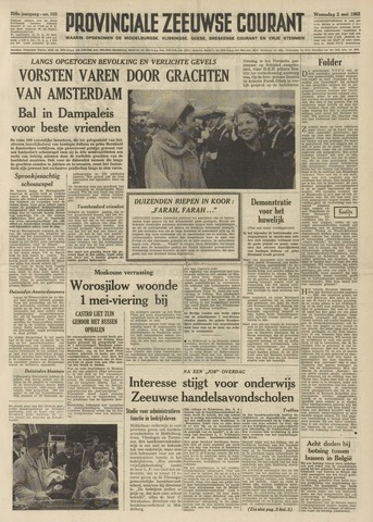 Provinciale Zeeuwse Courant 1962-05-02
