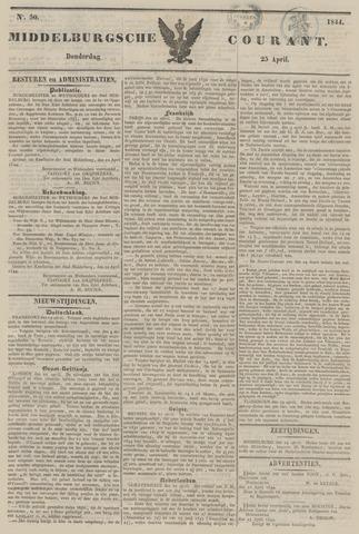 Middelburgsche Courant 1844-04-25