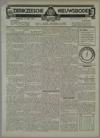 Zierikzeesche Nieuwsbode 1937-06-15