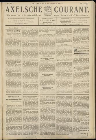 Axelsche Courant 1936-11-13
