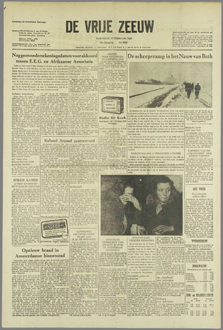 de Vrije Zeeuw 1963-02-27