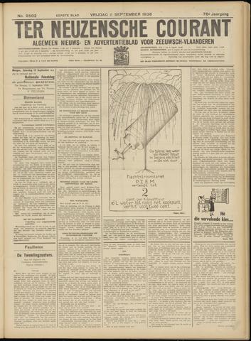 Ter Neuzensche Courant. Algemeen Nieuws- en Advertentieblad voor Zeeuwsch-Vlaanderen / Neuzensche Courant ... (idem) / (Algemeen) nieuws en advertentieblad voor Zeeuwsch-Vlaanderen 1936-09-11