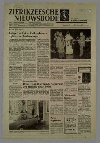 Zierikzeesche Nieuwsbode 1981-12-07