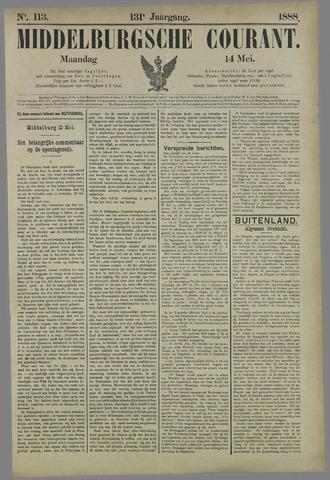 Middelburgsche Courant 1888-05-14